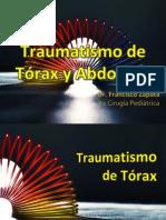 Trauma Tórax (Enero 2013)