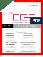 Propuesta Plan de Trabajo CGE 2013-2014