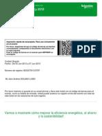 Confirmation Ticket Bogota 2013