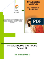 Sesion 14 Inteligencias Multiples