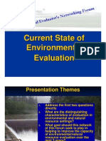 Rowe_Current State of Environmental Evaluation