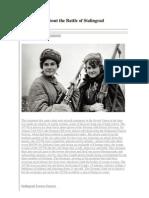 10 Fatos Sobre Stalingrad
