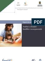 Raport Femeia Familii Monoparentale
