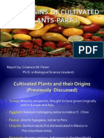 The Origins of Cultivated Plants Part 2