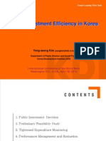 PublicInvestmentEfficiency KOREA