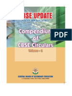 englsh CBSE-Updates(Compendium of CBSE Circulars)Vol-I