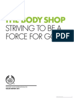 The Body Shop - Striving to Be a Force for Good