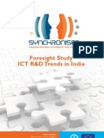 Foresight Study ICT R&D Trends in India