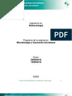 Unidad 3. Caracterizacion Microbiana