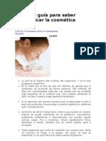Pequeña guía para saber identificar la cosmética tóxica