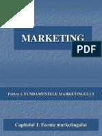 Bazele Marketingului - Cap 1