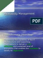 11 Availability Mgt
