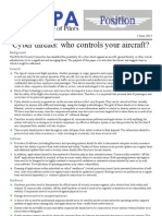 14POS03 - Cyber Threats To Planes