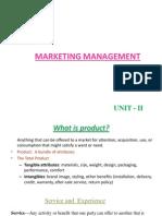 Unit II - Product Development