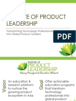 Institute of Product Leadership - Epgpl