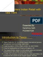 Tesco Enters Indian Retail With Tata Trent