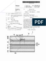 Semiconductor laser having optical guide layer doped for decreasing resistance (US patent 7295587)