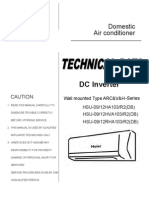 Service Manual Hsu-09(12)Ha Hva Rha103r2(Db)-Td(071230)