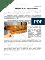 01/06/12 Germán Tenorio Vasconcelos sso y Guerreros de Oaxaca Contra La Obesidad