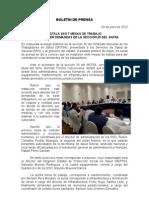 03/04/12 Germán Tenorio Vasconcelos instala Sso Mesas de Trabajo Para Atender Demandas de La Seccion 35 Del Sntsa