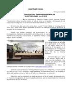 05/06/12 Germán Tenorio Vasconcelos ABRE SSO CONVOCATORIA PARA PREMIO ESTATAL DE INVESTIGACIÓN EN SALUD 2012