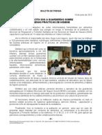 19/06/12 Germán Tenorio Vasconcelos CAPACITA SSO A GUARDERÍAS SOBRE BUENA PRÁCTICAS DE HIGIENE