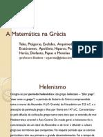 A Matematica Na Grecia