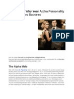 10 Reasons Why Your Alpha Personality Will Bring You Success