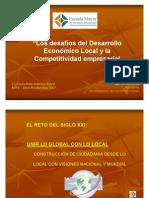 Desarrollo Economico Local - Vision Empresarial