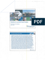 TransCanada presentation to FBI on pipeline projects
