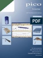 Pico Test Measurement Catalog