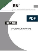 Radio Degen DE1103