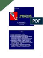 Diabetes y Uso de Corticoides