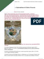 11.6.2013, 'Mostra Sul Liberty e Razionalismo Di Matteo Focaccia', Culturame
