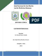 Caratula Historia Clinica