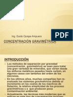 8 Concentracion Gravimetrica
