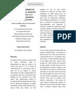 Articulo de IAM, Analisis de La Demanda de H2O Municipal.