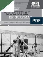"""El avión """"Sonora"""" en Guaymas"""