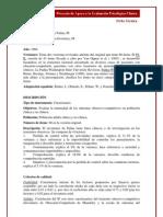 Interpretacion Inventario de Padua