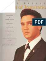 Elvis Presley Music Book, Songs of Inspiration.