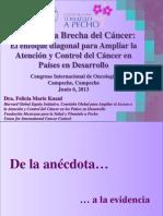 Cerrando la brecha del cáncer