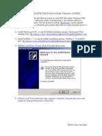 How to Create PDF Printer for Free WindowsXP