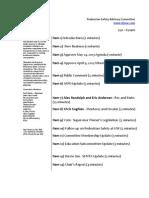 Agenda - May 14, 2013
