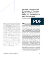 Psychiatric Features and Disturbance of Circadian Rhythm of Temperature, Pulse, And Blood Pressure in Wilson's Disease