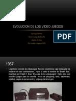 Evolucion de Los Video Juegos