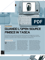Quando l'open source finisce in tasca