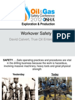 Workover Safety