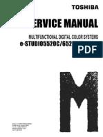 Toshiba e-studio 5520c-6520c-6530c service manual
