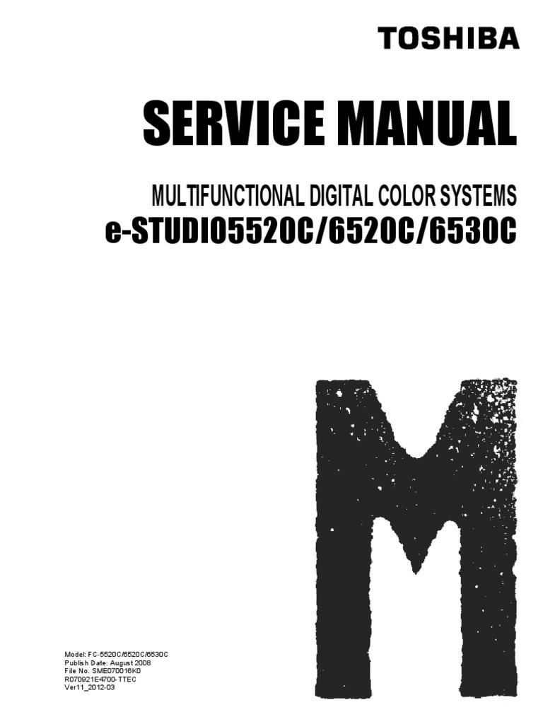 toshiba e studio 5520c manual