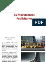 10 Movimientos Publicitarios